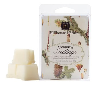 Evergreen Seedlings Wax Melters 2.4 oz by Hillhouse Naturals
