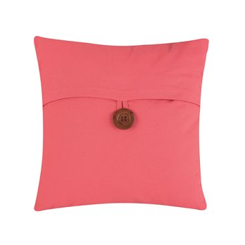 Coral Feather Down Envelope Pillow