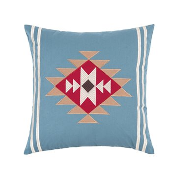 Wyatt East Embroidered Pillow