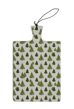 Evergreen Tree Ceramic Cutting Board