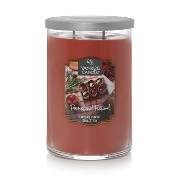 Yankee Candle Farmstand Festival Large 2 Wick Cylinder Candle
