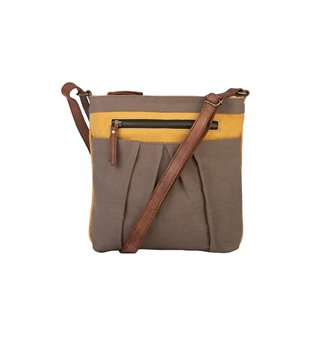 Mona B. Isla Crossbody Bag - Goldenrod