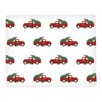 Red Trucks Rectangular Hardboard Placemat