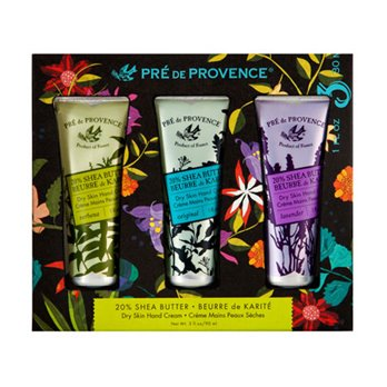 Pre de Provence 20% Shea Butter Dry Skin Hand Cream Set of 3