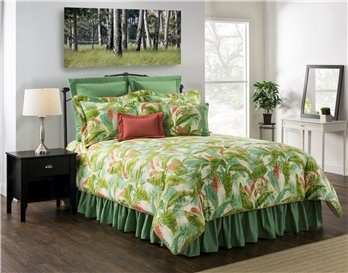 "Cape Coral Queen Comforter Set (w/18"" Bedskirt)"