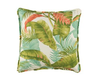 Cape Coral Main Print Square Pillow