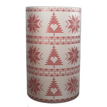 Yankee Candle Mountain Holiday Nordic Jar Holder
