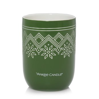 Yankee Candle Balsam & Cedar Nordic Design Ceramic Filled Candle