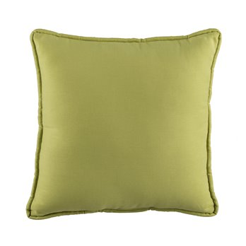 In the Sea Green Square Pillow