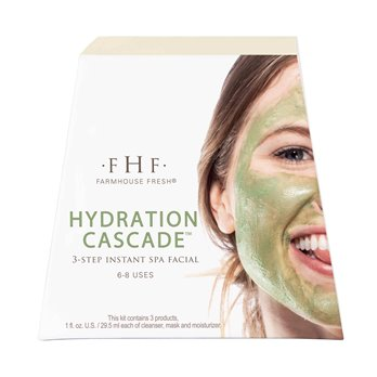 Farmhouse Fresh Hydration Cascade Instant Spa Facial Kit