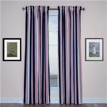 On Course Rod Pocket Curtains
