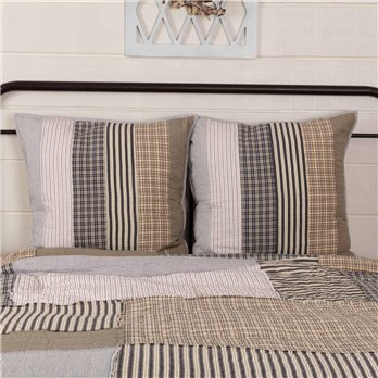 Ashmont Quilted Euro Sham Set of 2 26x26