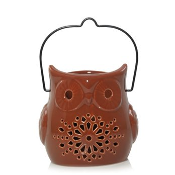Yankee Candle Pierced Owl Lantern Jar Candle Holder