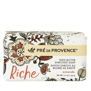 Pre de Provence Riche Amande Shea Butter Vegetable Soap 150 g