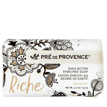 Pre de Provence Riche Coconut Shea Butter Vegetable Soap 150 g