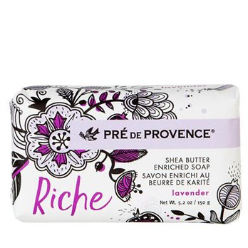 Pre de Provence Riche Lavender Shea Butter Vegetable Soap 150 g