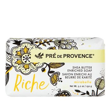 Pre de Provence Riche Mirabelle Shea Butter Vegetable Soap 150 g