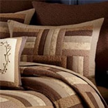 Shades of Brown Standard Size Sham