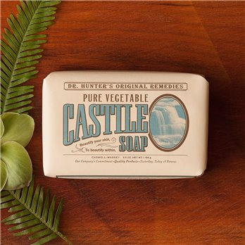 Caswell-Massey Dr. Hunter Vegetable Castile Soap (6.5 oz.)