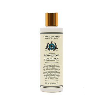 Caswell-Massey Sandalwood Liquid Bath Soap
