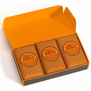 Crabtree & Evelyn Moroccan Myrrh Moisturizing Soap (3 x 5.3 oz, 150g)