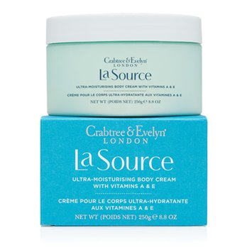 Crabtree & Evelyn La Source Ultra-moisturising Body Cream with Vitamins A & E (8.8 oz., 250g)