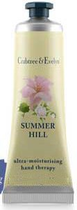 Crabtree & Evelyn Summer Hill Hand Therapy Purse Size (1.8 oz, 50g)