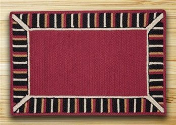 "Burgundy Soft Patch In The City In The City Rug 20""x30"""