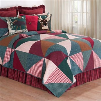 Shady Pines Twin Quilt