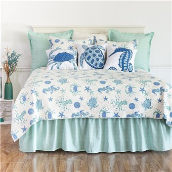Brisbane Full Queen 3 Piece Quilt Set