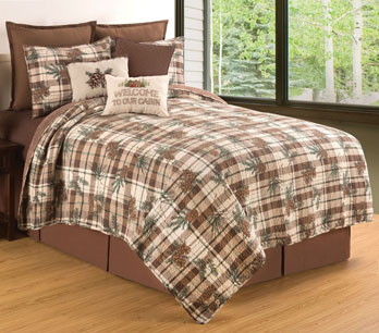 Lookout Lodge Twin Quilt Set