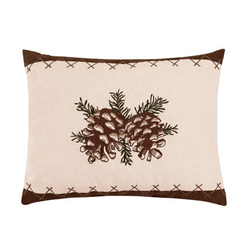 Lodge Pinecone Pillow