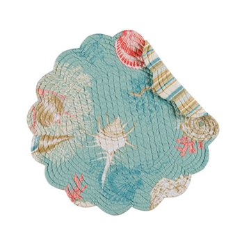 Santa Catalina Round Quilted Placemat