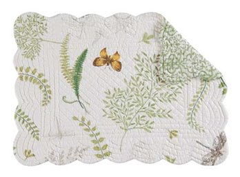 Althea Rectangular Quilted Placemat