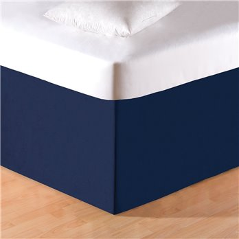 Navy Blue Twin Bedskirt