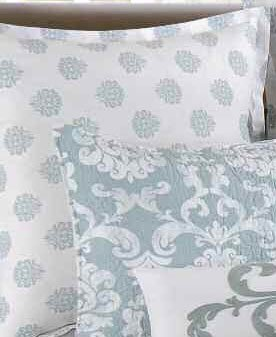 Providence Chambray Quilt Bedding By C Amp F Enterprises