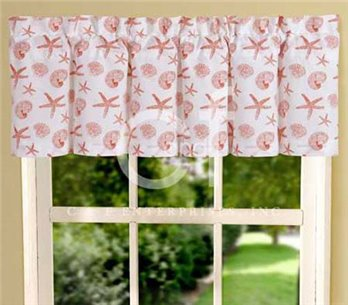 Cora Shells and Starfish Valance
