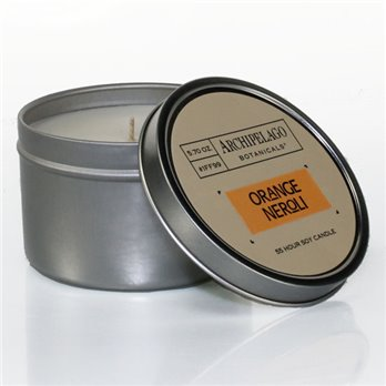 Archipelago Orange Neroli Tin Candle
