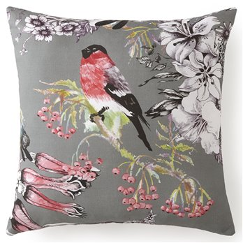 "Birds In Bliss Square Cushion 18""x18""- Birds"