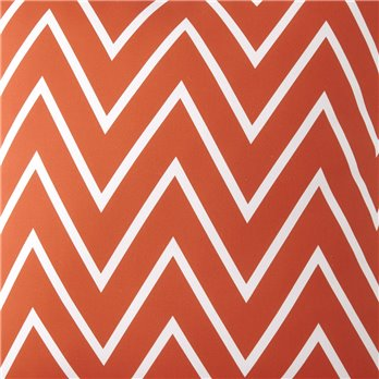 Flamingo Palms ORANGE ZIGZAG Fabric Per Yard