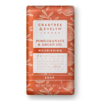 Crabtree & Evelyn Pomegranate & Argan Oil Triple Milled Soap