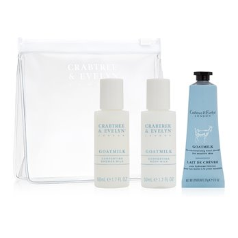 Crabtree & Evelyn Goatmilk-Mini Traveler set