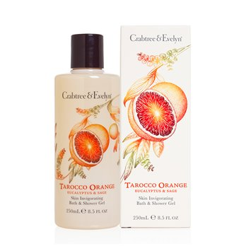 Crabtree & Evelyn Tarocco Orange Bath & Shower Gel