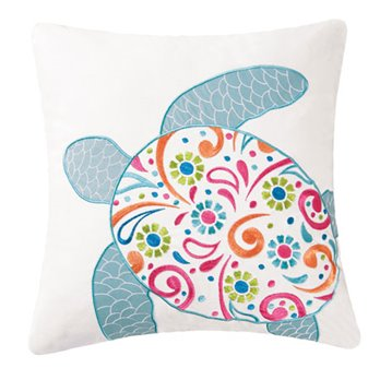St. Kitts Turtle Pillow