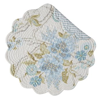 Jesamine Round Quilted Placemat