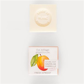 The Cottage Greenhouse Fresh Apricot French Soap