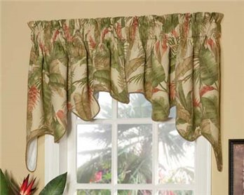 La Selva Natural Empress Swag Valance