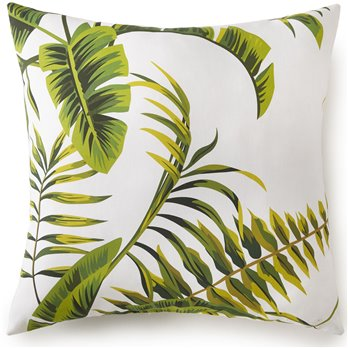 "Flower Of Paradise Square Cushion 20""x20"""