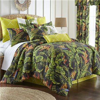 Flower Of Paradise Comforter Set Twin Size