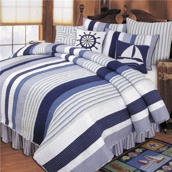 Nantucket Dream Twin Quilt